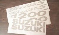 suzuki bandit kleebised triklitele avery autokile