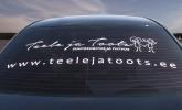 kleebisreklaam auto tagaklaasile autokleebised tartus